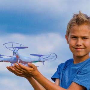 mejores drones para niños